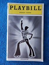 Saturday Night Fever - Minskoff Theatre Playbill - December 2000 - Sean Palmer