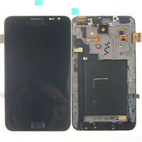 Black LCD Touch Screen Digitizer + Frame For Samsung Galaxy Note I9220 N7000