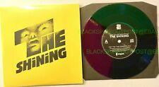 """THE SHINING"" 7"" EXCLUSIVE VINYL SOUNDTRACK MONDO TRI-COLOR RECORD YELLOW JACKET"