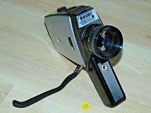 Bauer C4 Makro Filmkamera Lens Objektiv Neovoron 8/9-36 mit Ledertasche