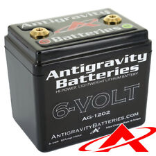 Antigravity Batteries AG-1202 Lithium Motorcycle Battery 6V 240 CCA 12-Cell
