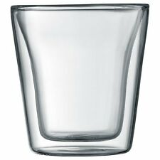 Bodum Canteen Double Wall Thermo Hot & Cold Set of 2 Glasses, 100ml