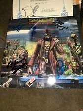 IRON MAIDEN  SIGNED BY 5 Stranger in a Strange Land