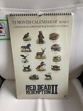 Raro Rockstar Games Rojo muerto canje 2 13 meses calendario 2020 GTA (agotado)