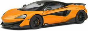 1:18 McLaren 600LT 2018 McLaren orange or Lantana purple SOLIDO 1804501 1804502
