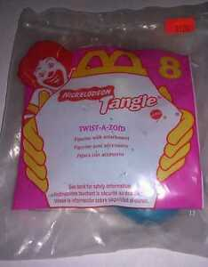 McDONALD'S HAPPY MEAL TOY - NICKELODEON TANGLE - TWIST-A-ZOID #8