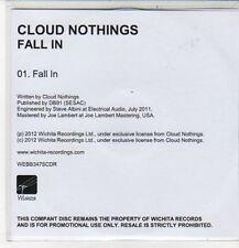 (CZ527) Cloud Nothings, Fall In - 2012 DJ CD