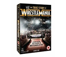 Official WWE - The True Story of Wrestlemania (3 Disc Set) Pre-Owned DVD