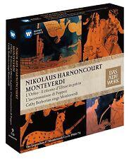 NICOLAUS/BERBERIAN,CATHY HARNONCOURT - MONTEVERDI...9 CD NEU