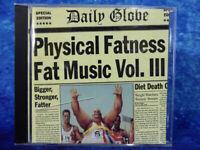 PHYSICAL FATNESS - Fat Music Vol III Compilation CD Fat Wreck Chords 18 Punk Trx