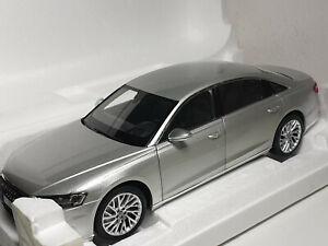 Norev 188366 Audi A8 L Limousine silber 2018 Modellauto 1:18