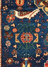 An Awesome Antique Khamseh Tribal Rug