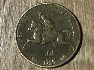 Litauen verschiedene Münzen