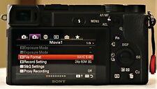 Sony Alpha 4K a6400 24.2MP Mirrorless (S-Log2, S-Log3 & HLG) 9.5of10 Camera Body