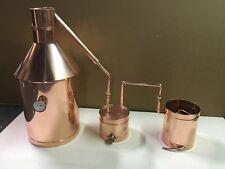 The Legendary StillZ 6 Gallon Copper Moonshine Still-Thumper/Worm  20.OZ  COPPER