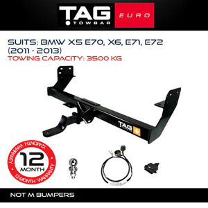 TAG Euro Towbar Fits BMW X5 & X6 2011-2013 Towing Capacity 3500Kg 4x4 Exterior