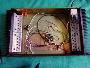 SCS amplifier chassis unloaded enclosure DIY