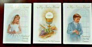 1st First Holy Communion Missal Prayer book. 64 pages Hardback. Catholic Missal
