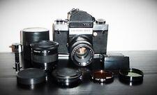 """TESTED Camera""  VINTAGE CAMERA KIEV 6C TTL + Converter MC 2x"