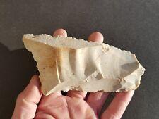 1 Outil en silex taillé (Dordogne) paléolithique néolithique flint hachette