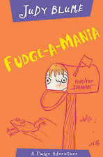 Fudge-a-Mania, By Judy Blume,in Used but Good condition