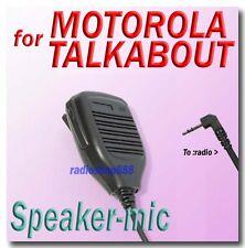 41-75MT Speaker-mic for Motorola talkabout T5500 T5720 T5420