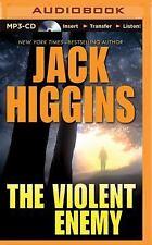 The Violent Enemy by Jack Higgins (2015, MP3 CD, Unabridged)
