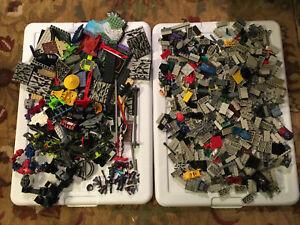 6lbs Pieces LOT Mega Blok Blox Construx Knex Halo NeoShifter ConstructBots Parts