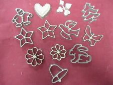 New listing Cookie Pastry Stamp Mold Cutter Lot