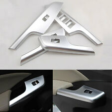 Matte Inner Door Window Switch Button Panel Handle Cover Trim For CRV CR-V 13-16