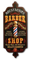Barber Shop Personalized Dubliner Wood Sign Great for Man Cave, Office, Shop