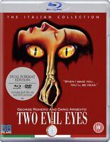 Nuovo Due il Male Occhi DVD + Blu-Ray
