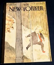 """New Yorker September 3 2018 """"Closing In"""" Daniel Radcliffe advert on back cover"""