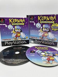 Klonoa door to Phantomile PS1 Sony PlayStation 1 Komplett + Demo PB RAR TOP