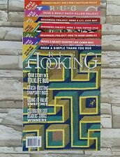 Rug Hooking Magazine 7 Back Issues 2005 2006 2007 2009 2014
