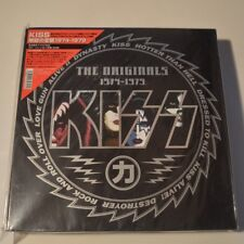 KISS -THE ORIGINALS 1974-1979- 1998 JAPAN LTD. EDITION BOX 11-LP SET COLOR VINYL