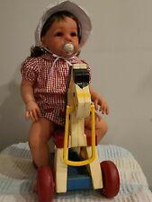 "BIG CUTE CHEAP 26 ""Reborn Toddler Girl doll  ""ELORA"" BY JANNIE DE LANGE~NEW"