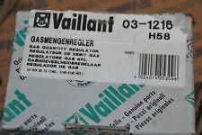 VAILLANT 031216 03-1216 GASMENGENREGLER VC-VCW 20 T3 INKLUSIVE SINE SINE MOT NEU