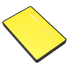 "ORICO USB 3.0 2.5"" Inch SATA HD Hard Drive Disk HDD External Enclosure - Yellow"