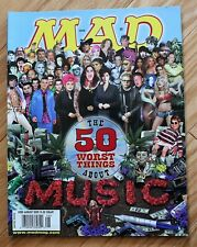 United States Mad Magazine; August, 2002; The 50 Worst Things About Music