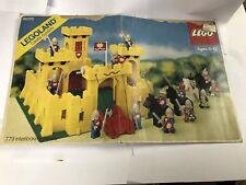 Lego Set 6075 Box Lid Only - Iconic Castle Lego Set Box Lid- Vintage 1981 Castle