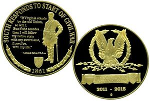 ROBERT E. LEE INSPIRATION COMMEMORATIVE COIN PROOF VALUE $129.95