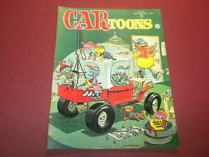 CARTOONS/CAR TOONS magazine 1969 DECEMBER - Petersen Publishing racing hot rods