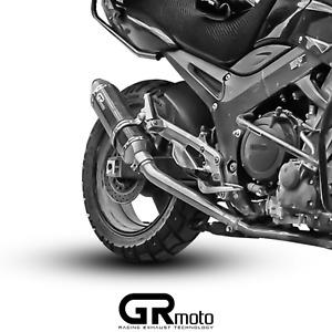 Exhaust for YAMAHA TDM 900 2002 - 2013 GRmoto Muffler Carbon