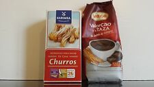 Valor Cao Spanish Hot Chocolate Powder 500g & Churros Packet Mix 500g