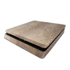 Marbled Wood PS4 Slim Skin / PlayStation 4 Slim PS4 Slim Skin Sticker Cover