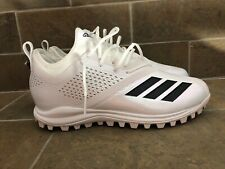 Adidas Adizero Turf Football Shoes Size 11.5 Cg6309 Cleats White