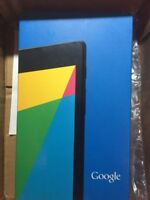 "ASUS Google Nexus 7 16GB WiFi 7"" Black Android Tablet 2nd Gen 2013, Open-Box"