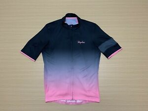 Rapha Cycling Jersey Mens ~ Large ~ Great Cond Biking Full Zip Super Lightweight