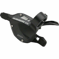 130 g SRAM X4 Front Trigger Shifter in Black for Three Speed Gears